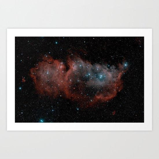 Space 19 Art Print