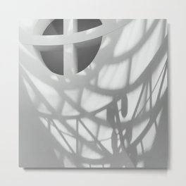 Architexture ShadowLove Metal Print