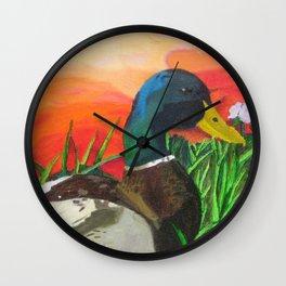 Early Rise Wall Clock