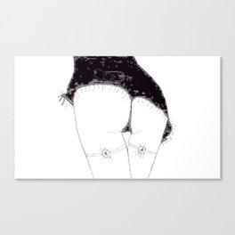 Girl Named Ze Canvas Print