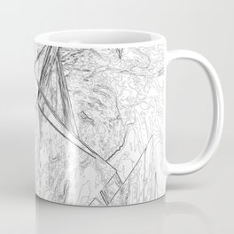 Abstract Coffee Mug
