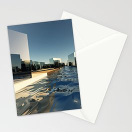 Q-City Two Stationery Cards