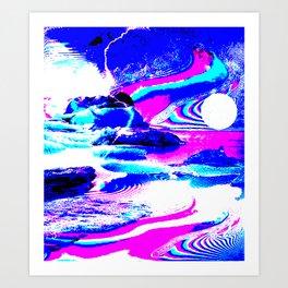 Confusing landscape I Art Print