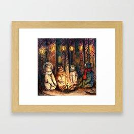Camp Meeting By Helen Green Framed Art Print