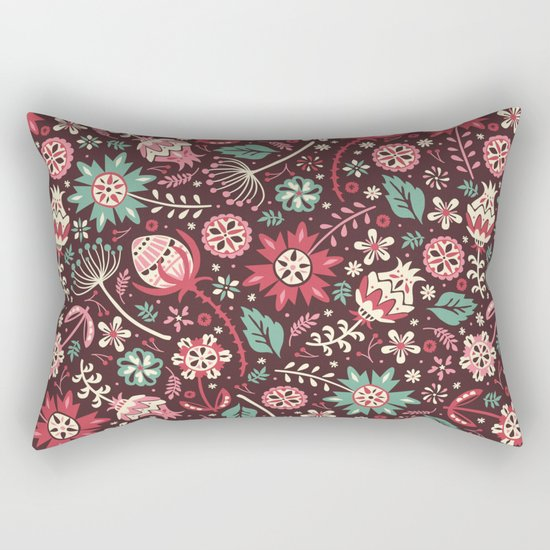 Wallflowers Rectangular Pillow