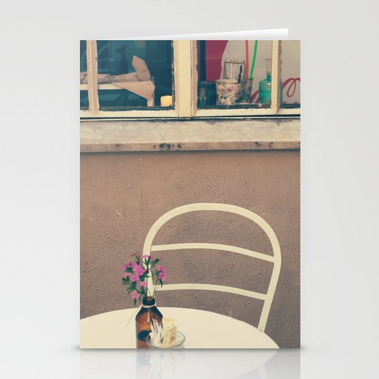 A little corner - vintage retro photography - still life  Stationery Cards