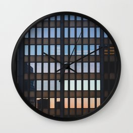 Chicago - Mecca of the Midwest II Wall Clock