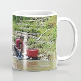 Laundry Day in the Amazon Coffee Mug
