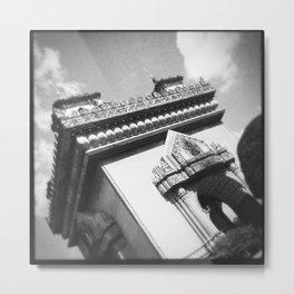 Vientiane Arches Metal Print