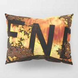 Halloween, Dead End Sign, Back Drop Pillow Sham