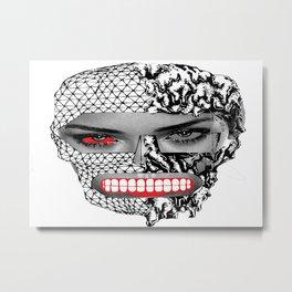 FaceOFF series - Ri Metal Print