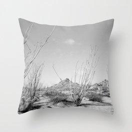 California Ocotillo Throw Pillow