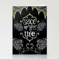 spice Stationery Cards featuring Spice by Melinda Francis