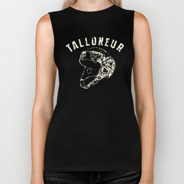 "Ruggershirts ""Talloneur"" Retro Rugby  Biker Tank"