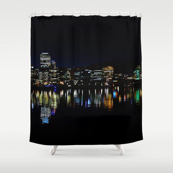 Wellington City Scape Shower Curtain