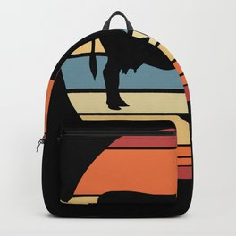 Vintage Cow Backpack