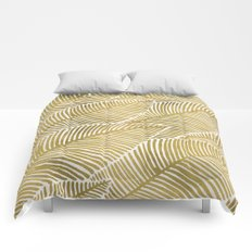 Tropical Gold Comforters