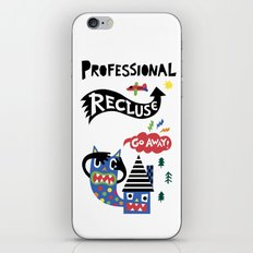 Professional Recluse iPhone & iPod Skin