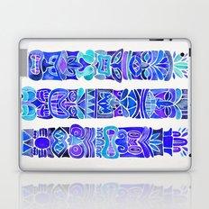 Tiki Totems – Indigo Palette Laptop & iPad Skin