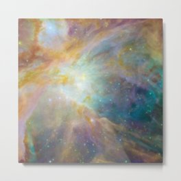 Galaxy Rainbow Metal Print