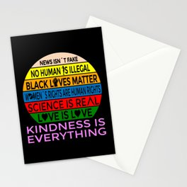 News isnt Fake Kindness is Everything Stationery Cards