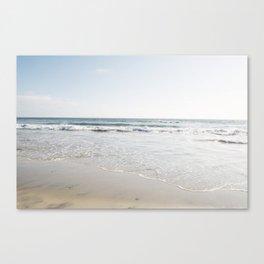 Beach Art California Decor Canvas Print