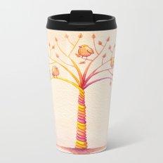 April Tree Metal Travel Mug