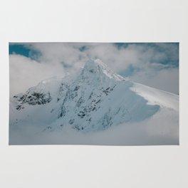 White peak - Landscape and Nature Photography Rug