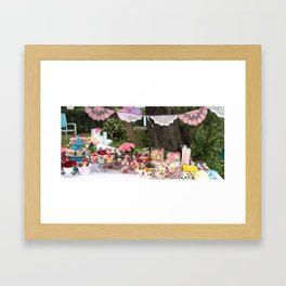 The Garden Party Framed Art Print
