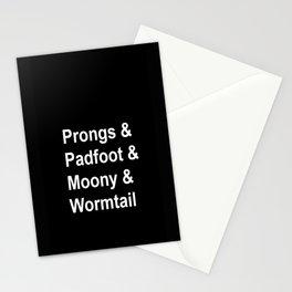 Marauders  Stationery Cards