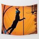 Basketball Player Silhouette by sportxioma
