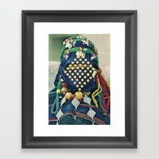 Dotted Tribe Framed Art Print