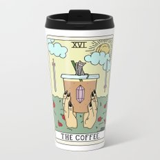 COFFEE READING Metal Travel Mug