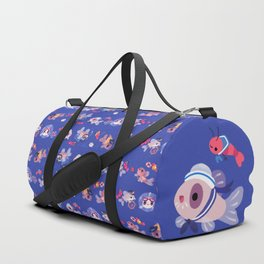 Cory cats on voyage Duffle Bag