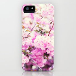 Cherry blossoms II iPhone Case