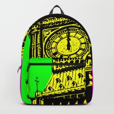 Big Ben - In all her coloured glory... Backpack