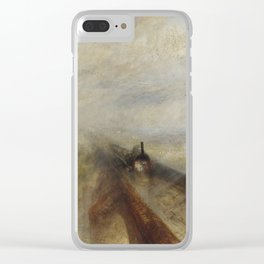 Rain, Steam and Speed – The Great Western Railway Clear iPhone Case