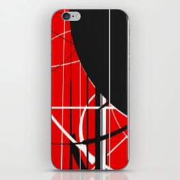 Black Dot Sticker Abstract iPhone Skin