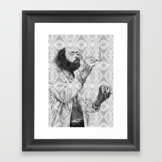 Virus Framed Art Print
