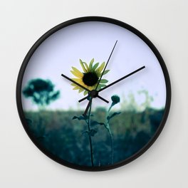 On The Way To California Wall Clock