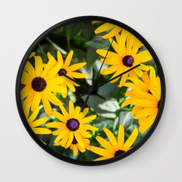 A Sunny Disposition Wall Clock