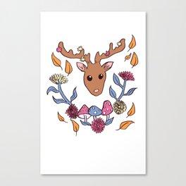 Deer nature Canvas Print