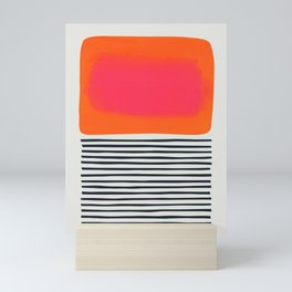 Sunset Ripples Mini Art Print