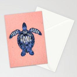 ocean omega (variant 3) Stationery Cards