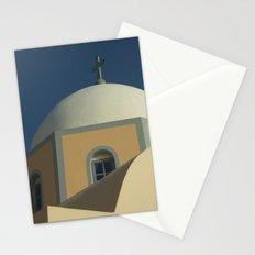 Santorini chapel Stationery Cards