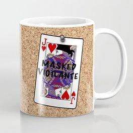Who's the Masked Vigilante? Coffee Mug