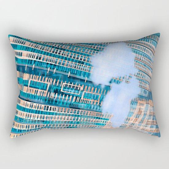 Cybernetic Memory 20-08-16-Menchulica Rectangular Pillow