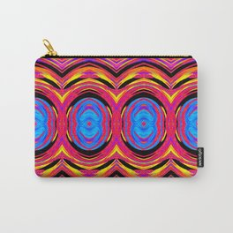 Psychedelic Swirls Carry-All Pouch