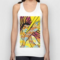 jazz Tank Tops featuring Jazz by Sanfeliu