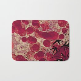 AB Red Bath Mat